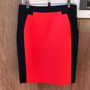 Worthington color block pencil skirt